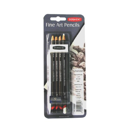 (Derwent Charcoal Mixed Media, Pack, 8 Count (0700664))