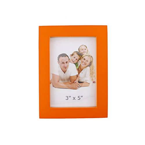 Classic Rectangular Wood Desktop Family Picture Photo Frame (Orange, - Pictures Couple Mirror