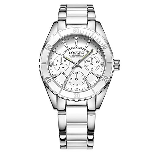 Fenleo Women's Watch Fashion Analog Quartz Watches Waterproof Wristwatch Casual ()