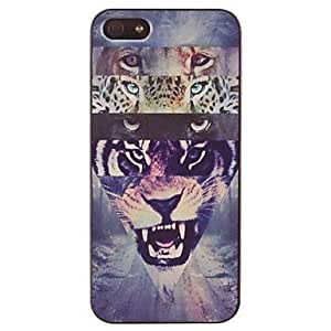 GJYVariety of Animal Eye Pattern PC Hard Case for iPhone 5/5S