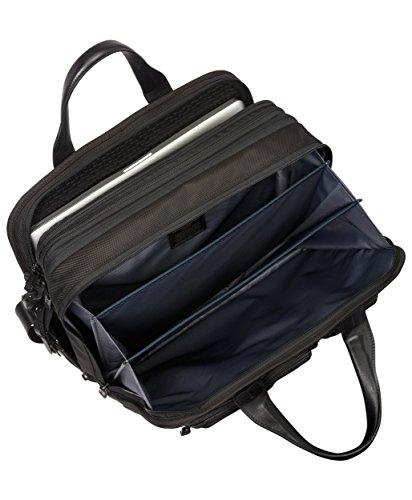 Tumi Alpha 2  T-Pass Laptop-Aktentasche (Erweiterbar), Schwarz