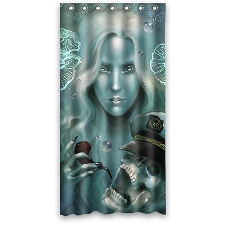 Disfraz de Lujo Niña Arte baño cortina de ducha 36
