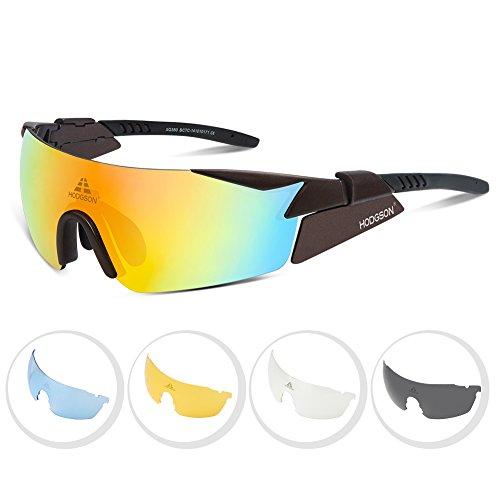 HODGSON Polarized Sunglasses Protection Interchangeable