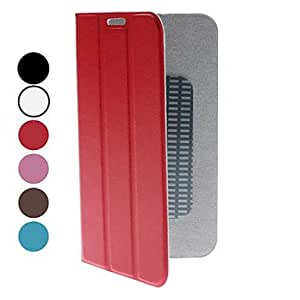 PU Leather Case with Stand for Samsung Galaxy Note 2 N7100 (Assorted Colors) --- COLOR:White
