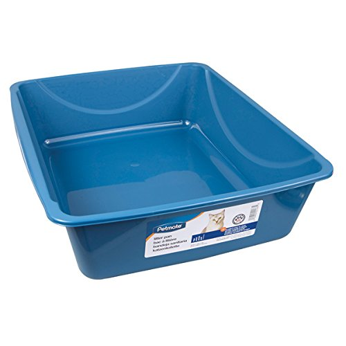 Doskocil Litter Pan - Large (18 1/2'' long x 15 1/4'' wide x 5 1/4'' high) by Doskocil