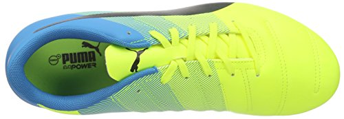 atomic Blue black Yellow Puma Safety 3 4 Sg Gelb Fußballschuhe 01 EvoPower Herren wUqfx4wv