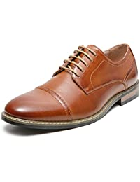 Men's Classic Cap Toe Leather Lined Oxford Dress Shoes