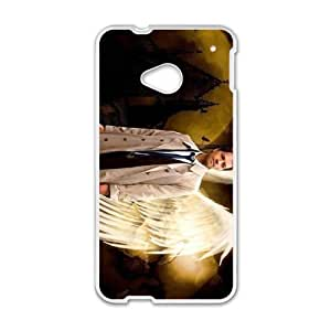 Happy Supernatural Castiel Cell Phone Case for HTC One M7