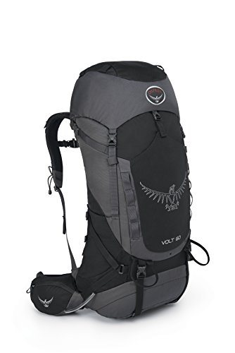 Osprey Packs 10000130 Volt 60 Backpack, Tar Black