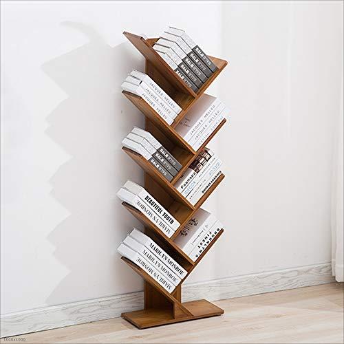 Bookshelf Xiaomei Study Bamboo Office Small Floor Tree Creative (Size : 4420133CM)