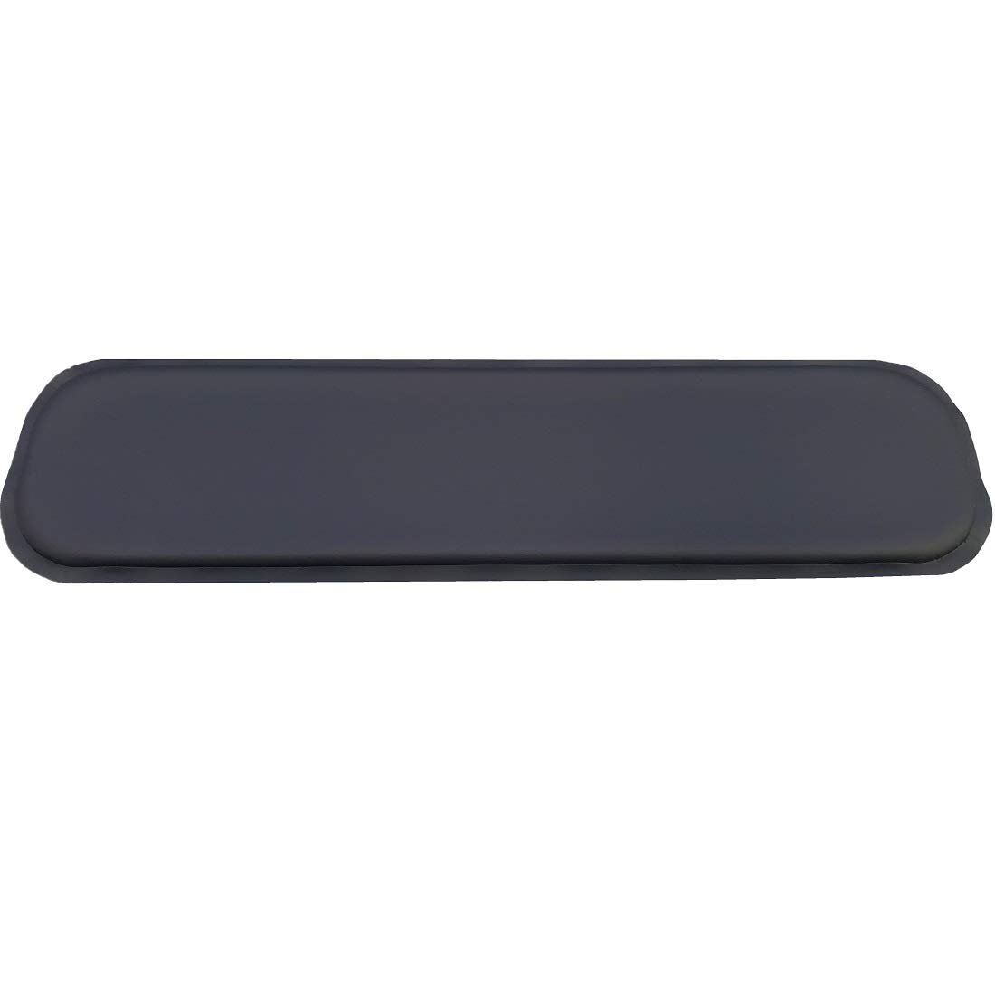 ULTRAGEL''Gaming'' Super Comfy Arm/Elbow/Wrist Rest Gel Pads (Full Key 4.5x17.5, Black)