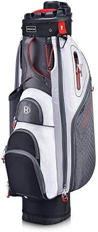 Bennington Quiet Organizer 9 Lite Cart Bag Canon Grey White