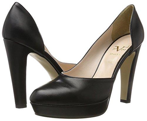 Slip Womens High On Toe 1969 Dominique Black Round Ladies Heels V wI5q4xa8