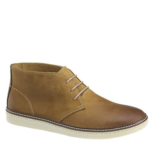 - Johnston & Murphy Men's McGuffey Chukka Shoe Light Tan Oiled Leather 9 M US