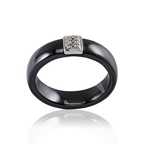 CLEOR - Bague Or 375/1000 Diamant - Femme