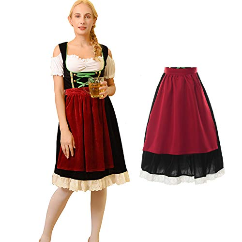 Nuoqi Girls Oktoberfest Costume German Dirndl Beer