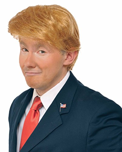 Donald Trump Wig Adult Costume Accessory Billionaire Candidate Fancy Dress (Ebola Halloween Costume For Women)