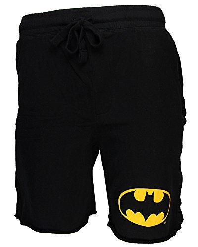Batman Logo Adult Mens Jam Cotton Shorts
