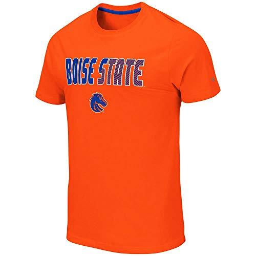 School Football Short Sleeve T-shirt - Colosseum Mens Boise State Broncos Yona Short Sleeve Tee Shirt - 2XL