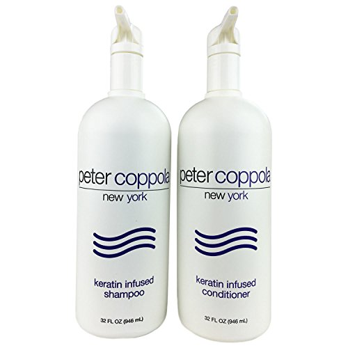Peter Coppola Keratin Infused Shampoo and Conditioner 32 fl oz (Duo Pack)