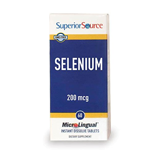 Superior Source Selenium Nutritional Supplements, 200 mcg, 60 Count