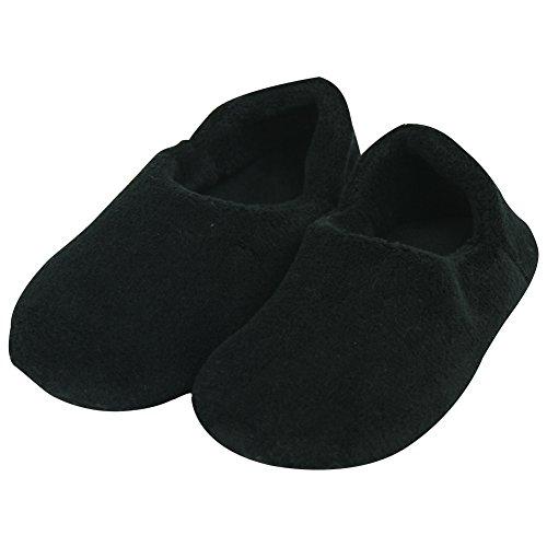 Socks Women's Fleece Soft Men's Coral Forfoot Unisex Non Sole Black Skid Slipper qxAv1gCSw