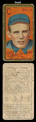 1911 t205 tobacco (baseball) Card# 53 thomas e downey of the Cincinnati Reds Good Condition