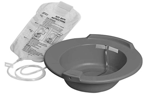 Medline DYND80102 Graphite Sitz Baths (Pack of 10)