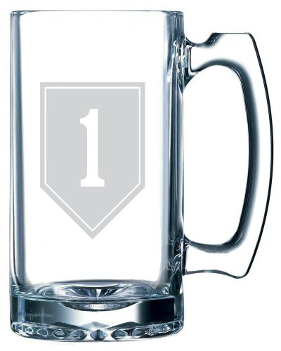 United States Army 1st Infantry Division Etched 25oz Libbey Sports Beer Mug