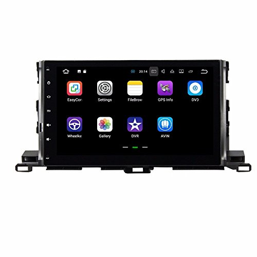 BoCID Quad Core 10.1'' Android 7.1 Car DVD Player for Toyota Highlander 2015 With 2GB RAM Radio GPS WIFI Bluetooth USB DVR 16GB ROM by BoCID (Image #1)