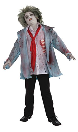 Zombie Costumes For Toddler (Boys Zombie Boy Kids Child Fancy Dress Party Halloween Costume, S (4-6))