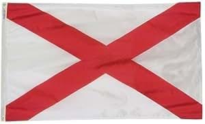 4 x cm 182,88 Alabama 2Ply poliéster bandera del estado