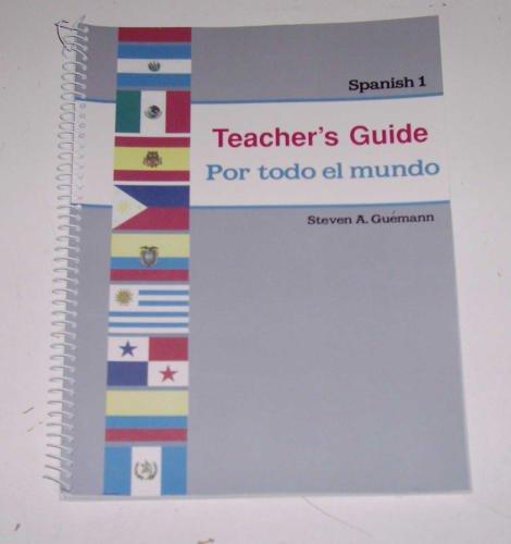 - Por todo el mundo (Teacher's Guide for Parts A and B) (A Beka Book, Spanish 1)