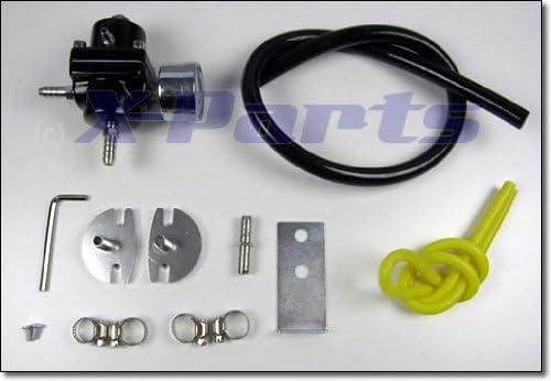 /7/Bar universal Black Adjustable Regulador de presi/ón de gasolina 0/