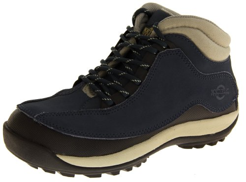 Northwest Territory Navy Blue Leather Safety Boots US 6 by Northwest