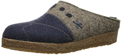 Eart Blue Earth Haflinger Women's Blue GZ Tristan Captain Mule wqqtIxHg