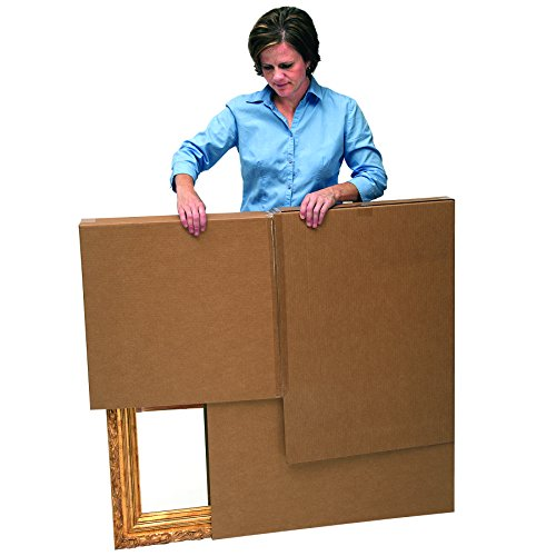 Bankers Box SmoothMove Moving Boxes for TVs, Pictures and Mirrors Adjustable, 40 x 60 x 4 Inches, 3 Pack (7711401) Photo #2