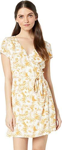 (LSpace Women's Suzie Tie Waist Wrap Dress Swim Cover Up Seaside Escape S )