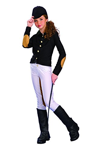Rubies Deluxe Equestrienne Child Costume, Small, One (Horse Riding Costume)