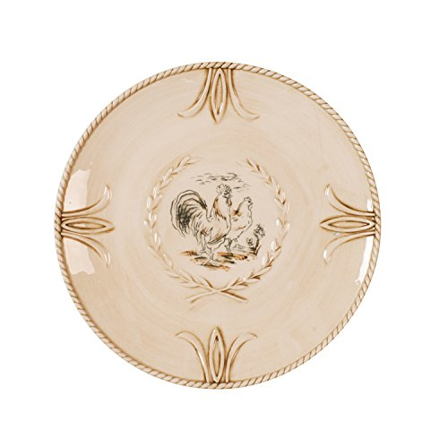 Carrington Collection, Accent Salad Plate (Rooster Accent Plate)