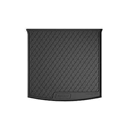 B9 Trunk Mat A4 Avant 2015 Gledring 1109 Rubbasol Rubber Black