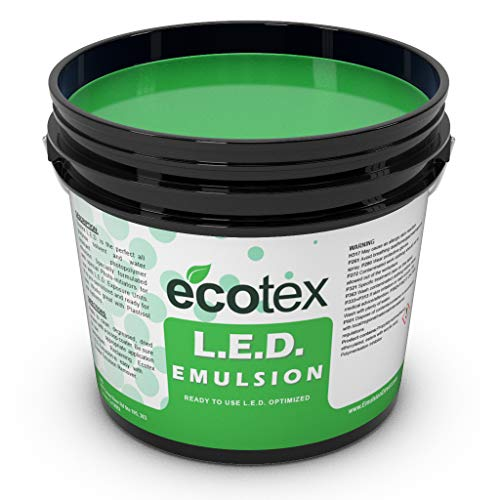 Ecotex L.E.D. - Textile Pure Photopolymer Screen Printing Emulsion (1 Quart)