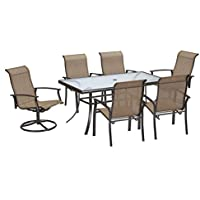 Garden Oasis Harrison 7 Piece Dining Set