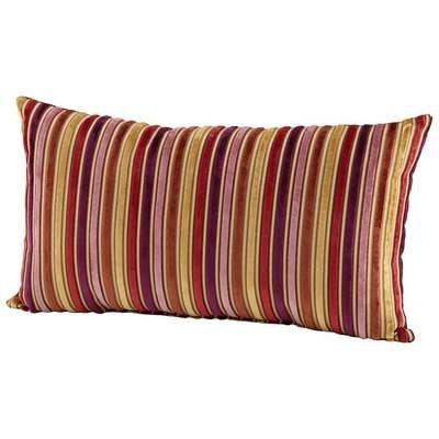 Cyan Design 06529 Vibrant Strip Pillow