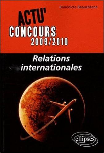 Relations internationales pdf
