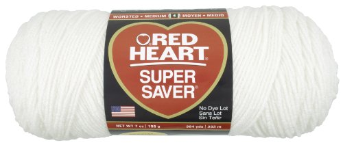 Soft Acrylic Yarn (Red Heart  Super Saver Economy Yarn, Soft)