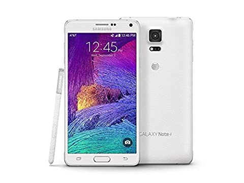 Samsung Galaxy Note 4 N910a 32GB Unlocked GSM 4G LTE Smartphone White (Unlock Phones Samsung Galaxy)