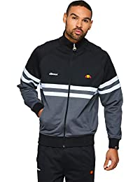Ellesse Men's Rimini Track Jacket, Black