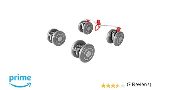 Maclaren Recambio para ruedas Quest fabricadas el 2016 o el 2017 color gris, montaje fácil: Amazon.es: Bebé