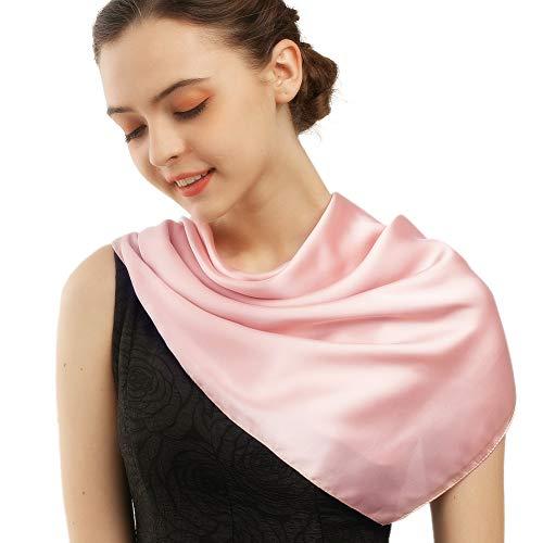 Square Silk Head Scarfs for Women 27